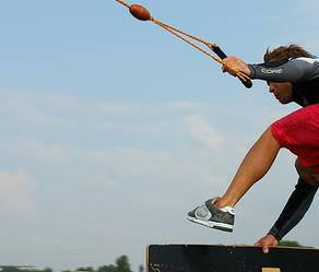 Вейкбординг - спорт для сильных людей
